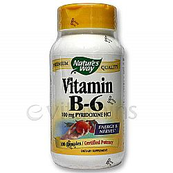 Nature's Way Vitamin B-6 100 mg