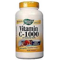 Nature's Way Vitamin C-1000 with Rose Hips