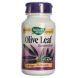 Nature's Way Standardized Olive Leaf 20% Oleuropein
