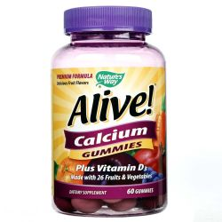 Nature's Way Alive! Calcium Gummies