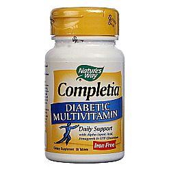 Nature's Way Completia Diabetic Multivitamin