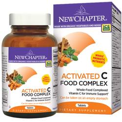 New Chapter Activated C Food Complex