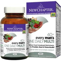 New Chapter Every Man's 40+ One Daily