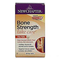 New Chapter Tiny Tabs Bone Strength Take Care