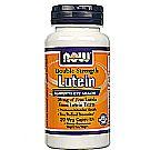 Now Foods Double Strength Lutein 20 mg