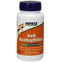Now Foods Acidophilus 4X6