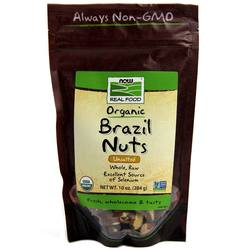 Now Foods Organic Raw Brazil Nuts