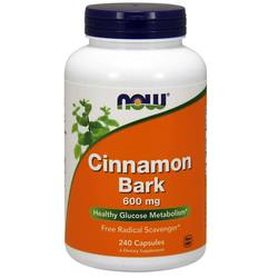 Now Foods Cinnamon Bark 600 mg