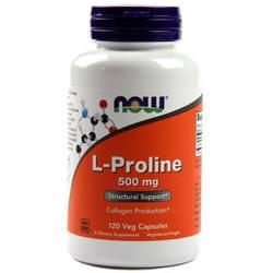 Now Foods L-Proline 500 mg