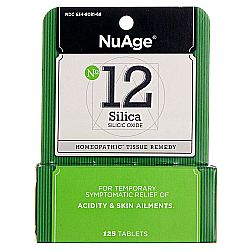 NuAge Homeopathic Remedies No. 12 Silica