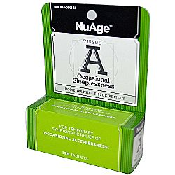 NuAge Homeopathic Remedies Tissue A Occasional Sleeplessness
