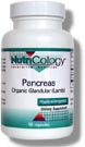 Nutricology Pancreas Natural Glandular, Lamb