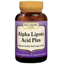 Only Natural Alpha Lipoic Acid 200 mg Plus
