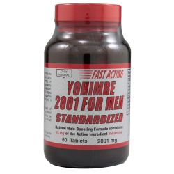 Only Natural Yohimbe 2001 For Men Standardized
