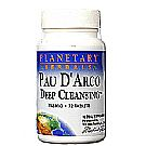 Planetary Formulas Pau D'Arco Deep Cleansing