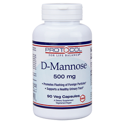 Protocol for Life Balance D-Mannose 500 mg