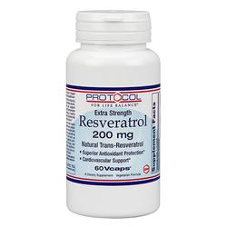 Protocol for Life Balance Resveratrol 200 mg