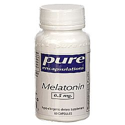 Pure Encapsulations Melatonin 0.5 mg