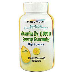 Rainbow Light Vitamin D 1,000 IU Sunny Gummies