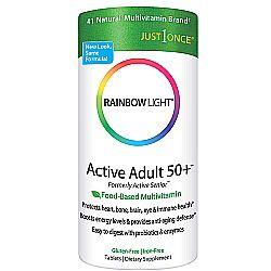 Rainbow Light Active Adult 50+ Multivitamin