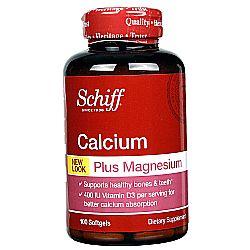 Schiff Calcium Magnesium with Vitamin D