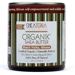 Shea Terra Organics Organik' Shea Butter