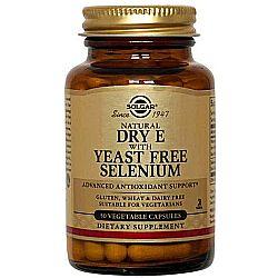 Solgar Dry E with Yeast-Free Selenium