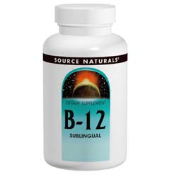 Source Naturals B-12 Sublingual 2000 mcg