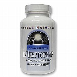 Source Naturals L-Tryptophan 500 mg