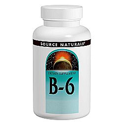 Source Naturals Vitamin B-6 Timed Release, 500 mg