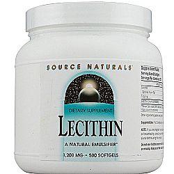 Source Naturals Lecithin 1200 mg