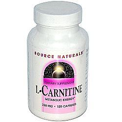 Source Naturals L-Carnitine 250 mg