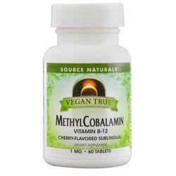 Source Naturals Vegan True Methylcobalamin Vitamin B-12