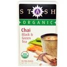 Stash Tea Company Organic Chai Black & Green Tea - 18 Tea...