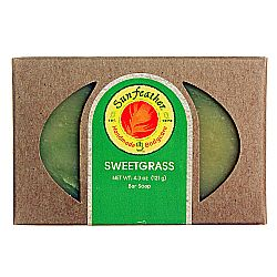Sunfeather Sweetgrass Soap