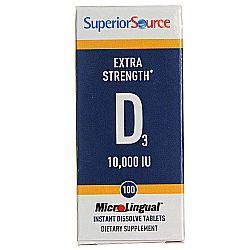 Superior Source D3 10,000 IU