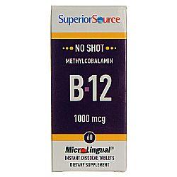 Superior Source No Shot B12 1000 MCG