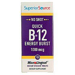 Superior Source Quick B12 Energy Burst
