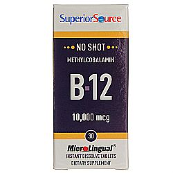 Superior Source No Shot 10,000 mcg Methyl B12