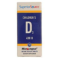 Superior Source Children's D3, 400 IU