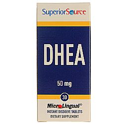 Superior Source DHEA 50 mg