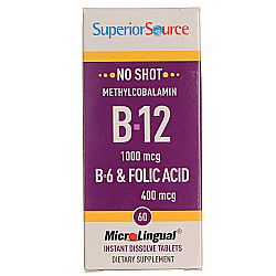 Superior Source No Shot B-12