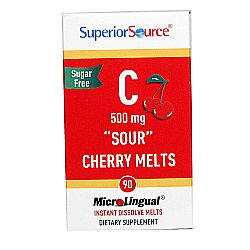 Superior Source C 500 mg Sour Cherry Melts
