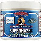 Thayers Superhazel with Aloe Vera Topical Pain Reliever Pads