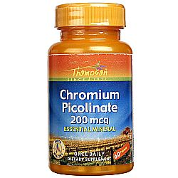 Thompson Chromium Picolinate 200 mcg