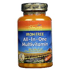 Thompson All-in-One Multivitamin Iron Free