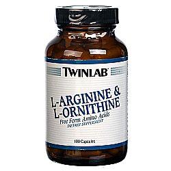 Twinlab L-Arginine and L-Ornithine