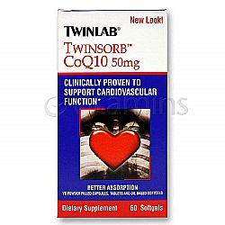 Twinlab TWINSORB CoQ10