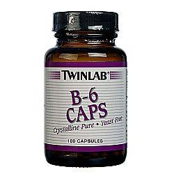 Twinlab B-6 Caps