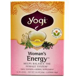 Yogi Tea Organic Teas Woman's Energy Tea